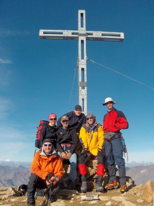 Similaun summit cross