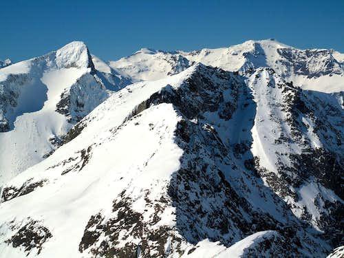 Close-up upon Gamskarlspitze and Schareck
