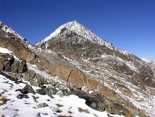 il Monte Emilius (3559 m.)...