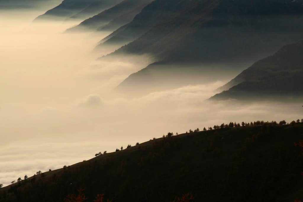 Sunset on Susa Valley - Italy