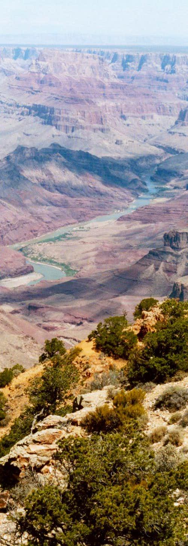 Colorado River in Distance
