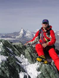 Me at the top Allalinhorn, 22...