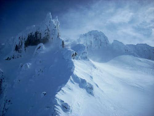 Mount Hood Crater