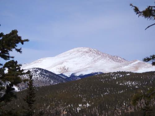 Pikes Peak from Rain Benchmark