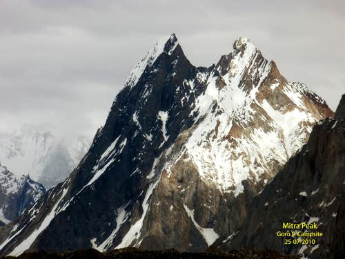 Mitre Peak, Pakistan