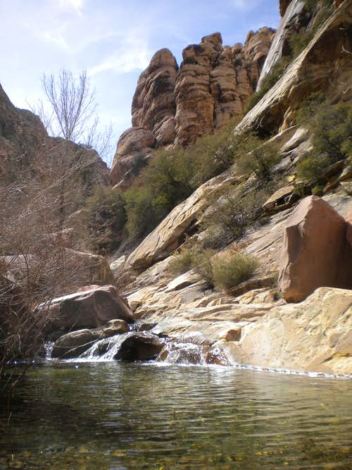 Red Rock pool