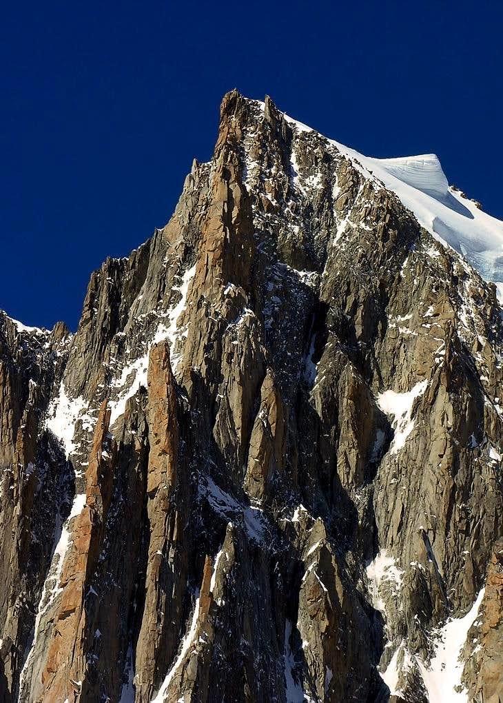 Views of Mont Blanc du Tacul