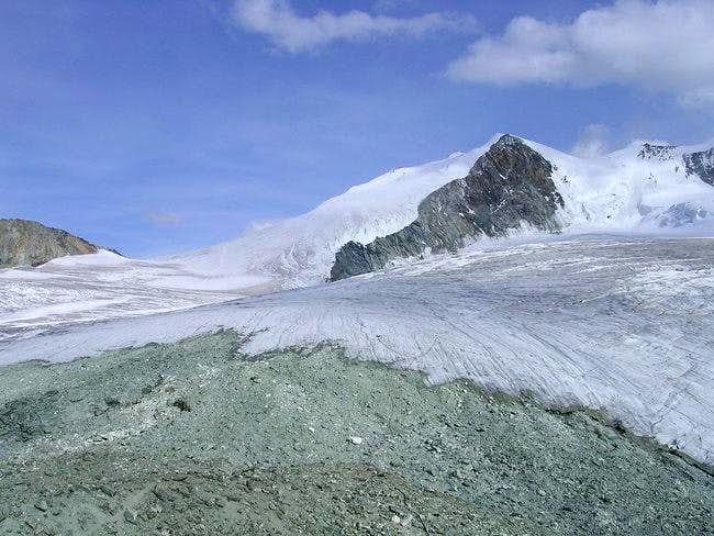 Bishorn seen from Cabane de...