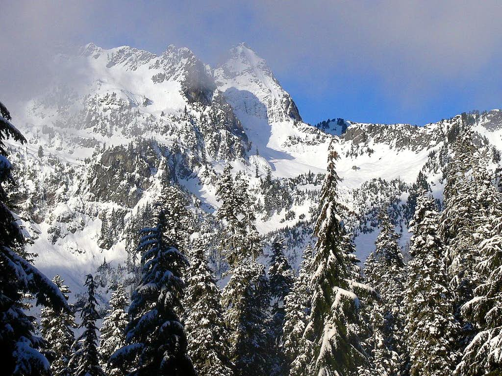 Chair Peak Comes in View