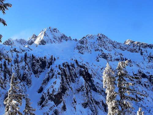 Chair Peak's East Face