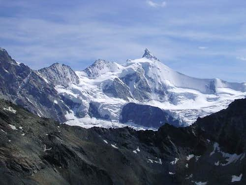 Obergabelhorn seen from...