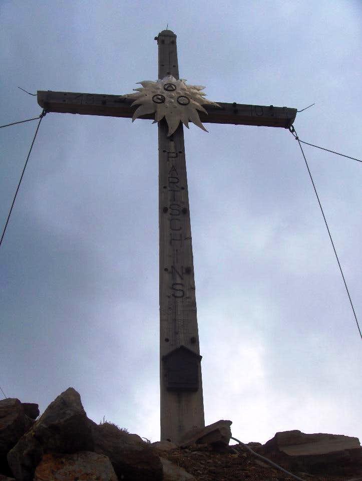 Blasiuszeiger summit cross (2837m)