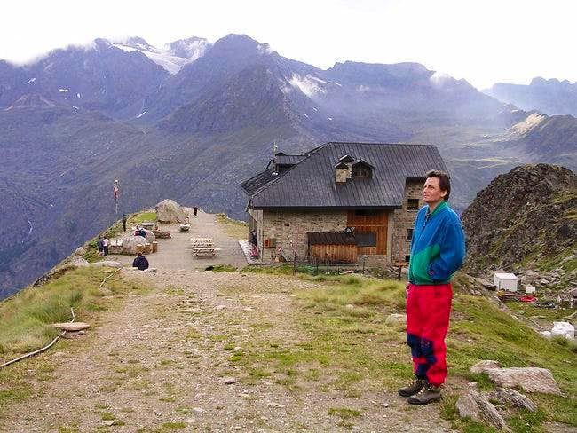 Chabod hut on 16 August 2004.
