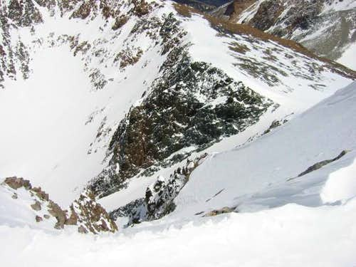 Dana Couloir from Dana Summit...
