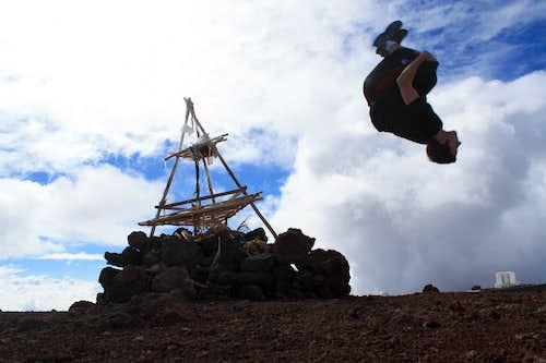 Flippin' for Mauna Kea