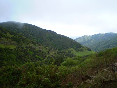 Beautiful View on Mt. Vaca