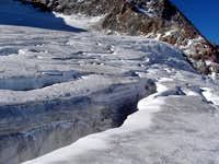 Crevasses on the Hochjochferner
