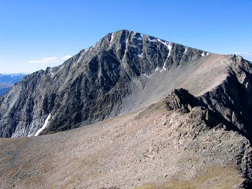 Ypsilon Mountain viewed from...