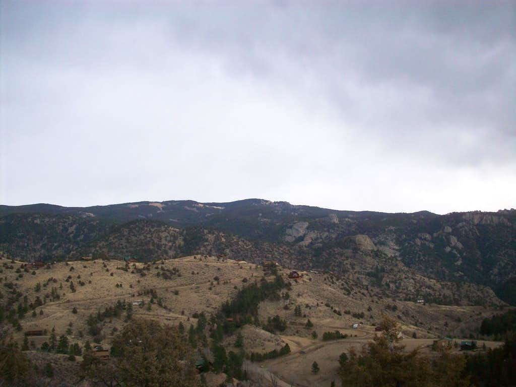 West side of Storm Mountain