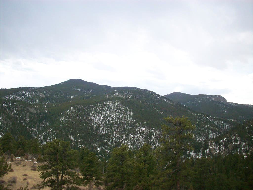 Crosier and West Crosier Mountains