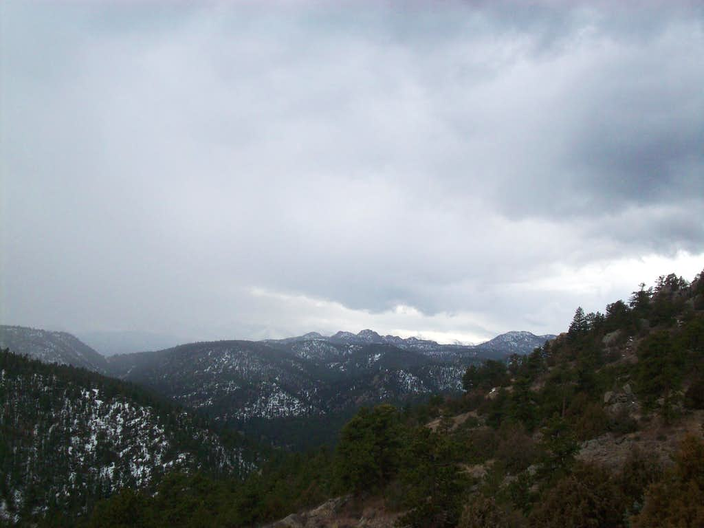 The Gemstones from Triangle Mountain trail
