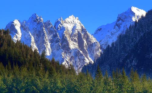 Mount Index\'s Impressive North Face