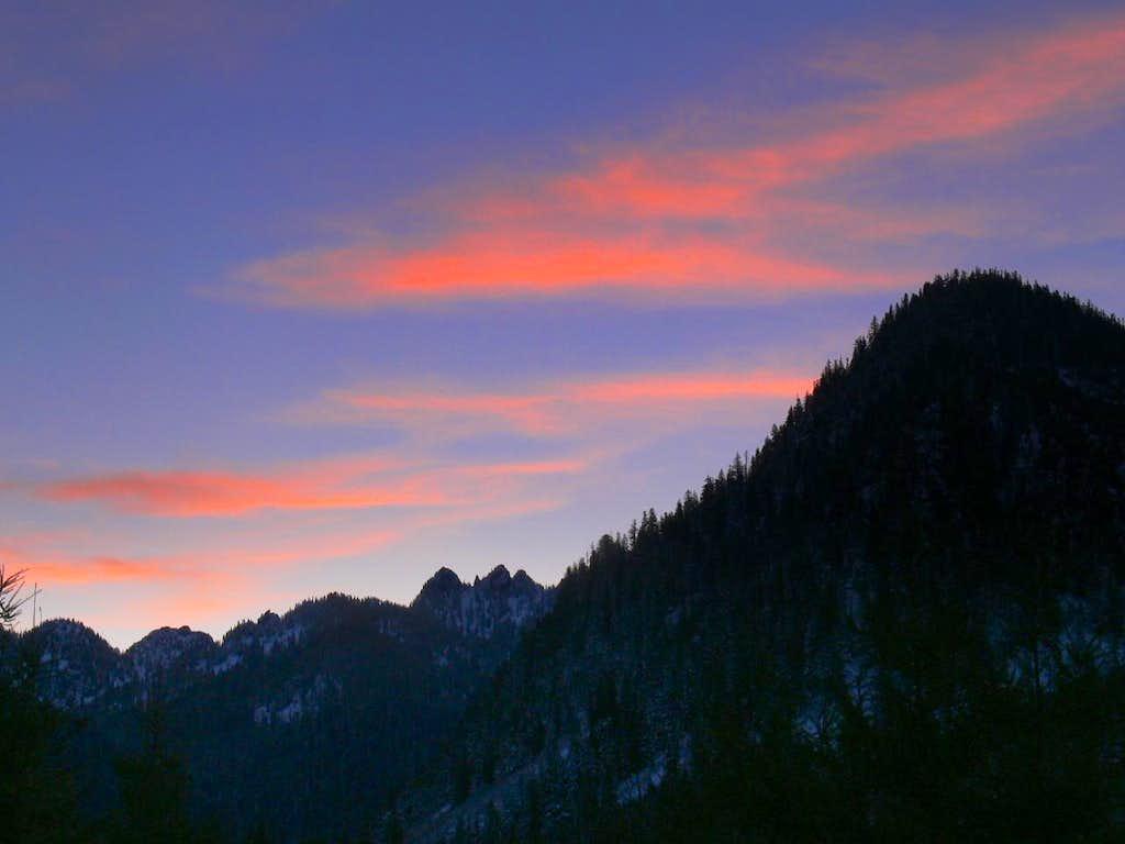 Sunrise from Below