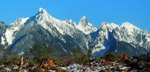 Gunn Peak from the Road