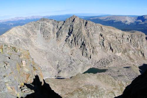 Desolation Peaks panorama...