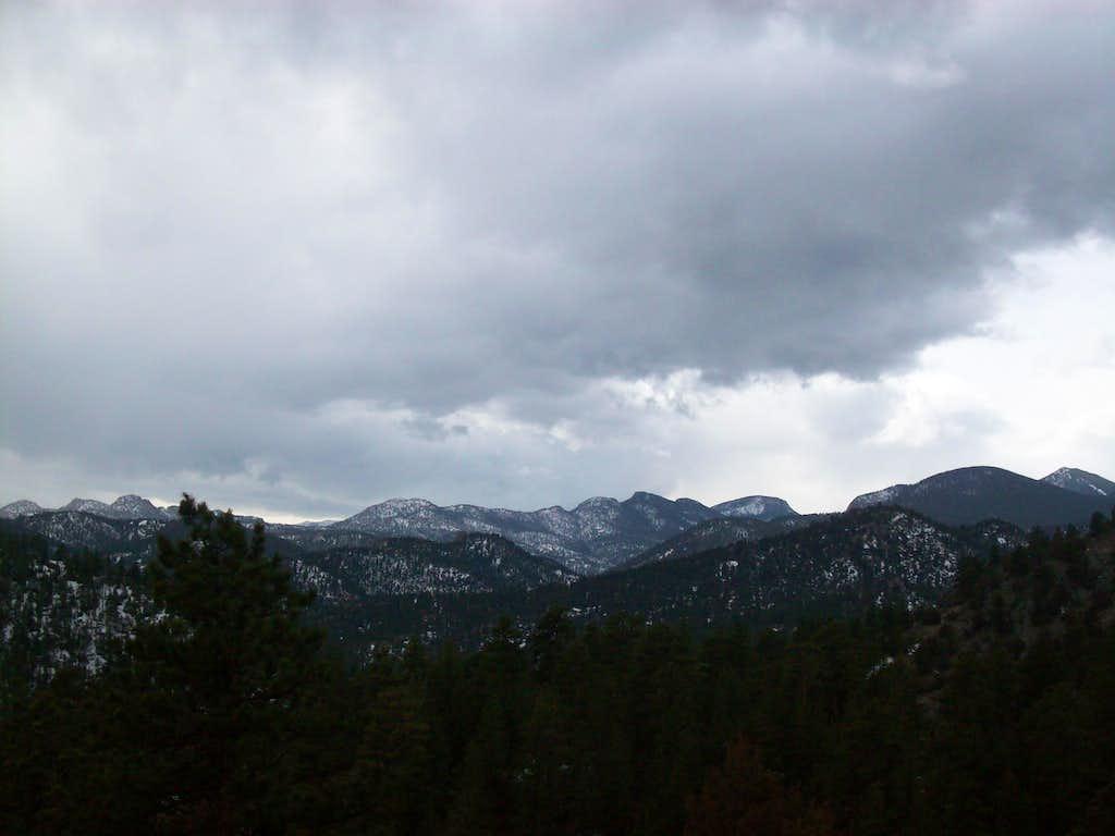 Lumpy Ridge summits