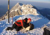 Always happy on my favorite mountain