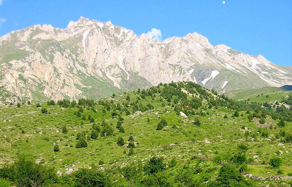 Korab Mountain Range