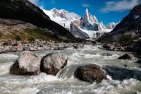 Fitzroy river and Cerro Torre