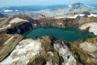 Mt Katmai Crater Lake
