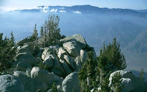 San Gorgonio seen from the...