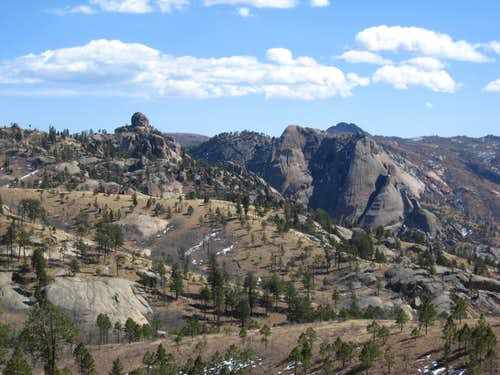 Tick Dome and Big Rock Candy Mountain