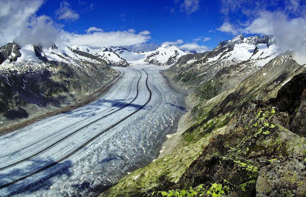 Memory of a beautiful Bernese Alps