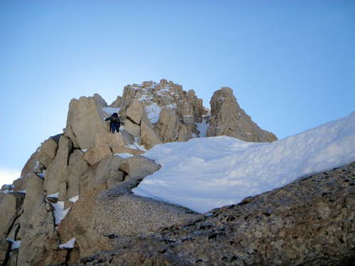 Climbing Higher on the East Ridge