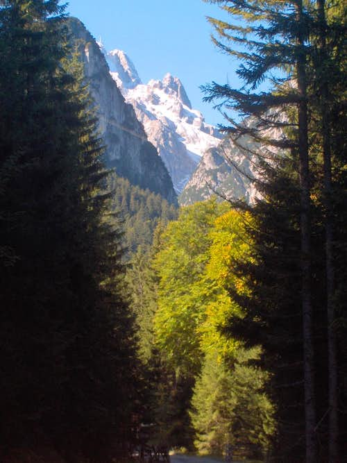 A peek at the Zugspitze