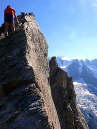 Near the Summit of Aiguilles des Luisettes de Valsorey
