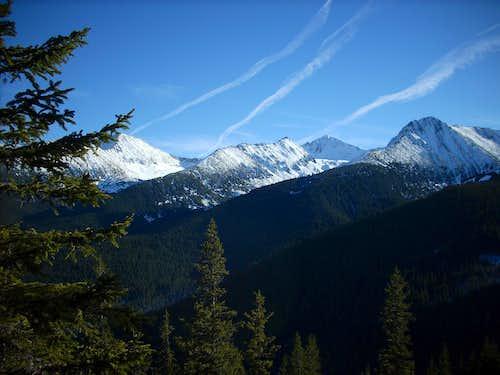 Retezat mountains