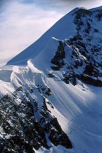 West Lyskamm: the west ridge,...