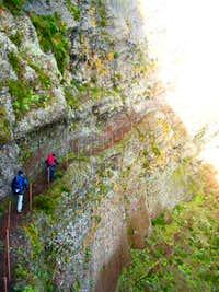 In the trail to Pico Ruivo...