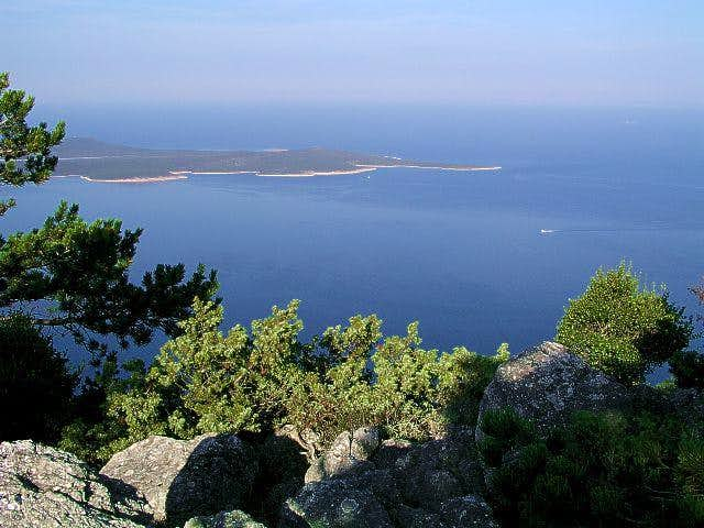 Summit view of Osorscica....