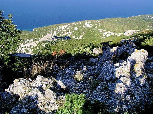 Summit view of Osorscica -...
