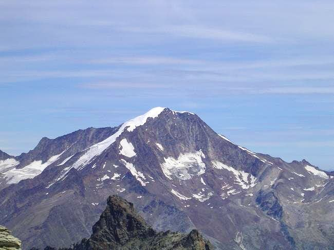 South-side of Weissmies from...