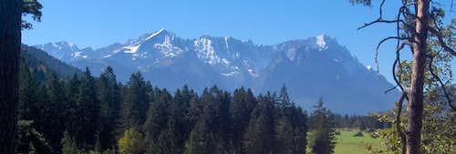 Jubiläumsgrat panorama