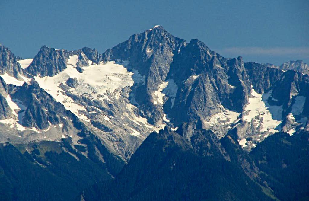 Eldorado Peak from Sauk Mountain