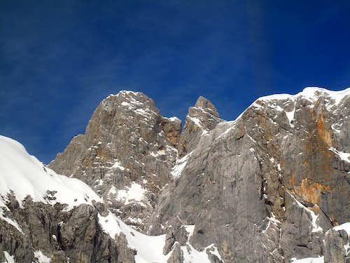 Südliches Dirndl (2832m) and Nördliches Dirndl (2818m)