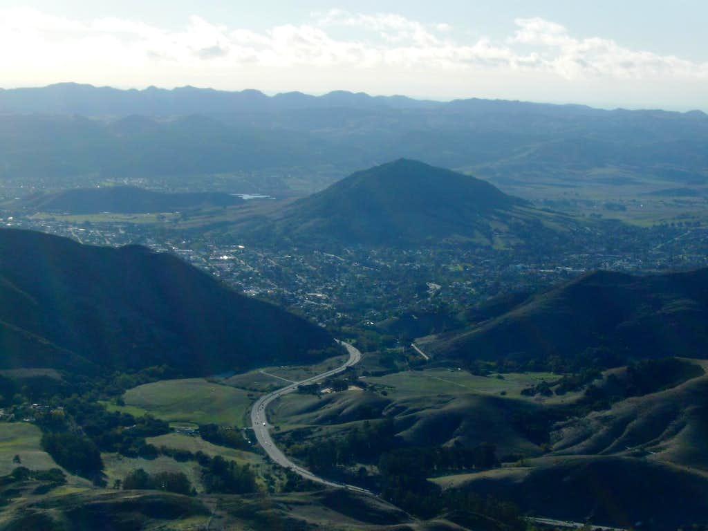 From Cuesta Ridge